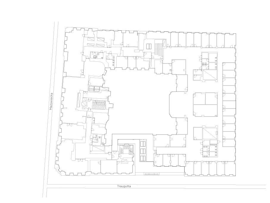 Małachowski Square - Plan 1